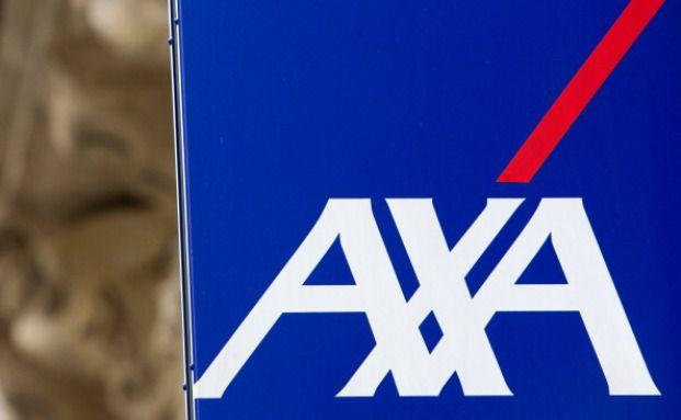 Firmenlogo der Axa Versicherungsgruppe. Foto: Getty Images