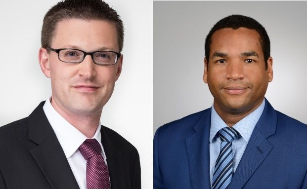 Dirk Bradtmüller und Bernd Klapper (v. li.), neue Vertriebsdirektoren bei M&G Investments