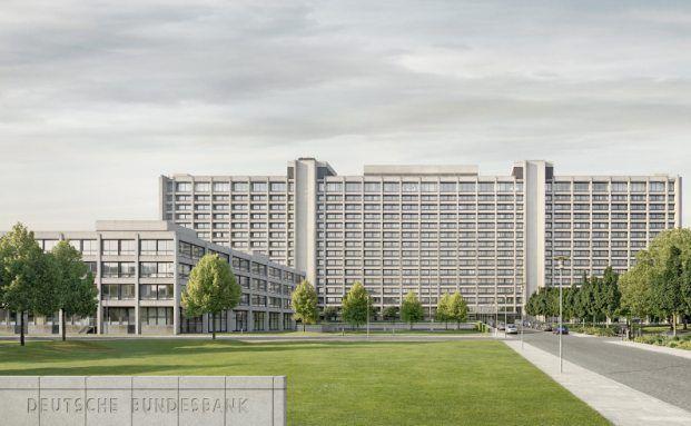 Das Bundesbank-Geb&auml;ude in Frankfurt. <br> Quelle: Deutsche Bundesbank