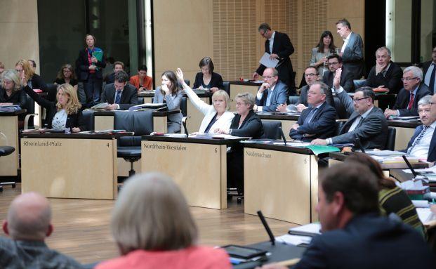 Eine Plenarsitzung des Bundesrats. Quelle: Bundesrat