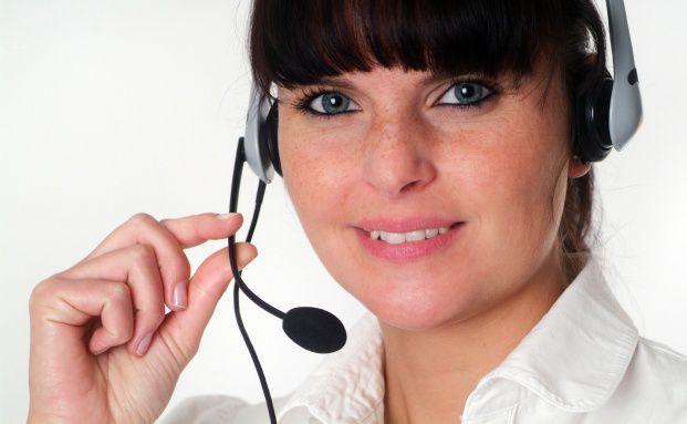 Nur die wenigsten Befragten mussten l&auml;nger als eine Minute <br> auf einen freien Callcenter-Mitarbeiter warten. <br> Quelle: Fotolia