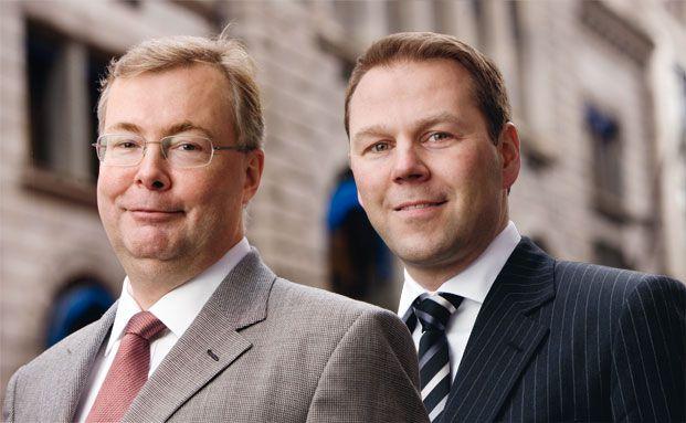 Karl Høgtun (links) und Kjell Hjørnevik, Carlson