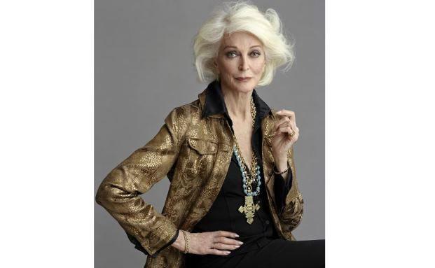 Bestes Beispiel für unsere alternde Gesellschaft: Carmen Dell'Orefice, die mit 83 Jahren immer noch modelt. (Foto: Bloomberg)