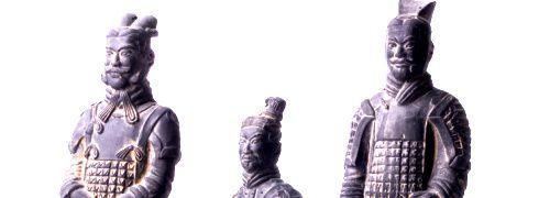 Chinesische Terrakotta-Armee, <br>Quelle: Fotolia