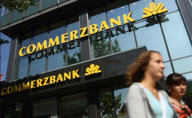 Eine Commerzbank-Filiale. Quelle: Getty Images