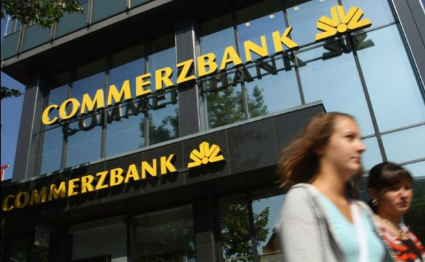 Commerzbank-Filiale. Weltweit will der Bankenkonzern 1.500 Vertretungen schließen, Foto: Getty Images