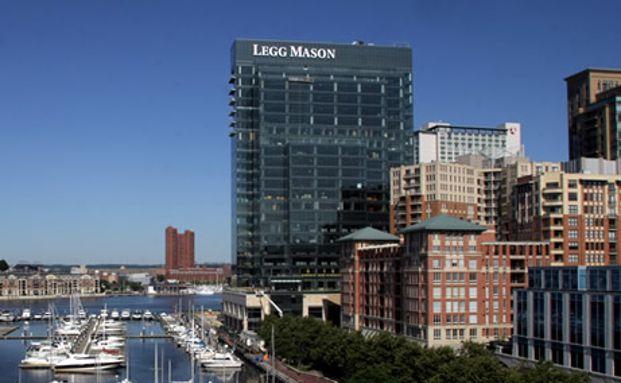 Die Firmenzentrale von Legg Mason befindet sich in Baltimore im US-Bundesstaat Maryland.