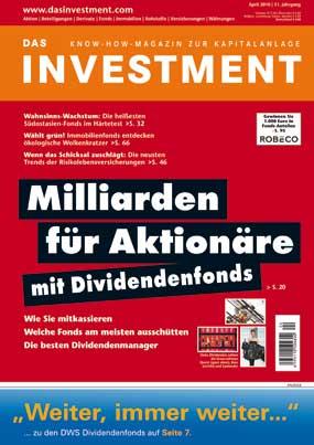 : Ausgabe April 2010 ab sofort am Kiosk