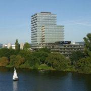 Die Hauptverwaltung der<br>Debeka in Koblenz