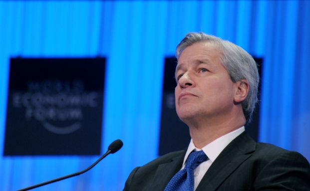 Jamie Dimon, Vorstandschef der J.P. Morgan Chase Group. <br> Quelle: AFP / Getty Images