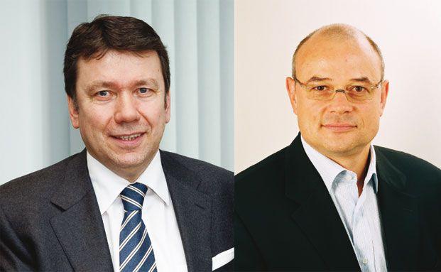 Klaus-Dieter Erdmann (MMD, links), Rainer Ottemann (Max.xs)