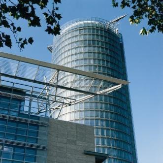 Der Ergoturm in Düsseldorf