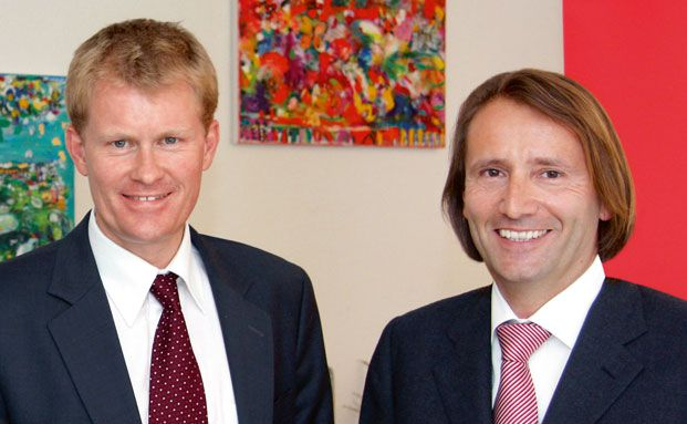 Henning Escher, Dr. Escher & Partner (links) und Christian<br> Abegglen, Direktor der St. Galler Business School.