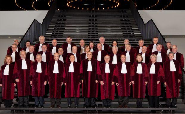 Wie werden sie entscheiden? Die Richter des Europäischen <br>Gerichtshofs in Luxemburg, Quelle: EuGH