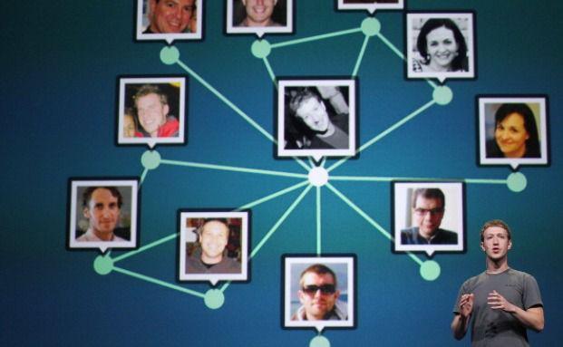Facebook ist das größte soziale Netzwerk der Welt. Firmen nutzen es vermehrt. Foto: Getty Images