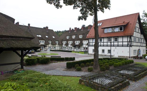 Ein fünf-Sterne Hotel in Deutschland. Auch offene Immobilienfonds kaufen solche Objekte, haben aber momentan Probleme sie wieder los zu werden. Foto: Getty Images