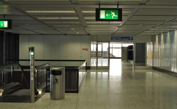 Flugh&auml;fen sind h&auml;ufig Ziele von Terroranschl&auml;gen. Alle <br> deutschen Flugh&auml;fen sind Kunden des Versicherers Extremus. <br> Foto: AngelaL/Pixelio