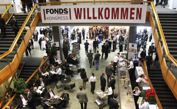 Fondskongress 2013 im Mannheimer Congress Center Rosengarten. Foto: Oliver Lepold