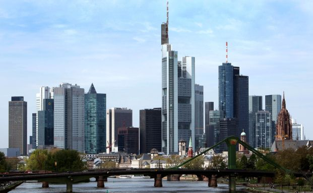 Skyline von Frankfurt: Die Hypothekenbank Frankfurt steht vor der Auflösung (Foto: Getty Images)