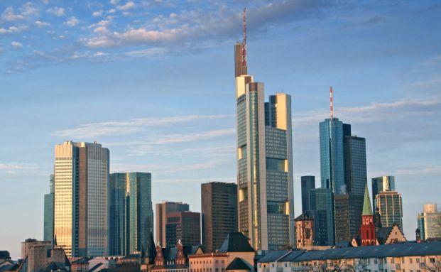 Frankfurter Innenstadt, wo sich auch das Trianon befindet. <br> Quelle: Istock