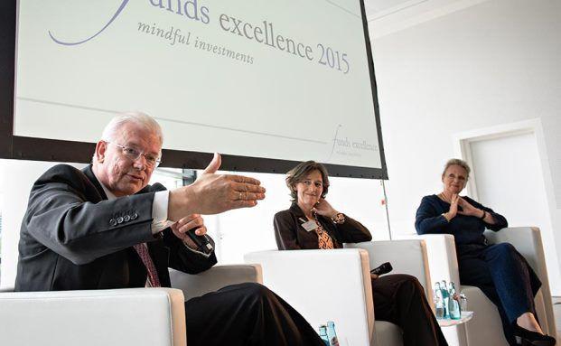 Eindrücke vom Fachkongress funds excellence - mindful investments in Frankfurt. Fotos: Uwe Nölke/Lutz Sternstein