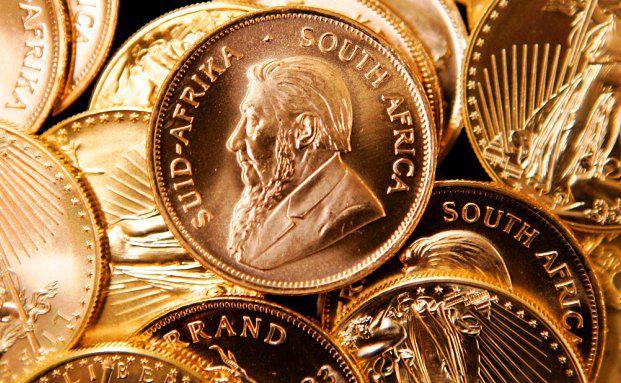 Der Kr&uuml;gerrand: Benannt nach dem<br/>s&uuml;dafrikanischen Politiker Paul Kruger<br/>und dem seit 1961 gesetzlichen Zahlungsmittel<br/>S&uuml;dafrikas. Eine Unze hat einen Durchmesser<br/>von 32,60 mm, ist 2,75 mm dick und<br/>wiegt 33,9305 Gramm. Foto: Getty Images