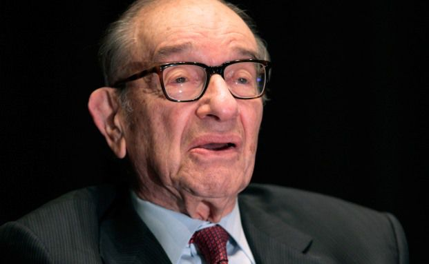 Alan Greenspan. Quelle: Getty Images