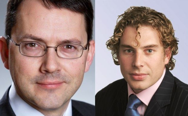 Trevor Greetham, Simon Clements (v. li.)