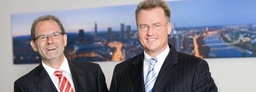 Walter Klein (links) und Thorsten Hass, ASG