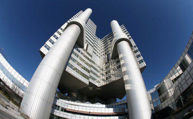 Die Hypo Vereinsbank in München. Das Finanzinstitut schnitt beim Filialbanken-Test am besten ab. Quelle: Getty Images