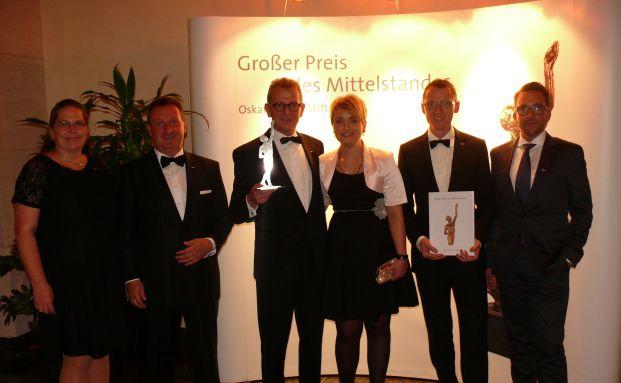 Großer Preis des Mittelstandes 2015: KFM Deutsche Mittelstand ausgezeichnet