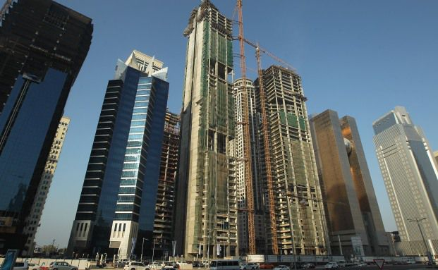 B&uuml;rogeb&auml;ude in Doha,Katar<br>Foto: Getty Images