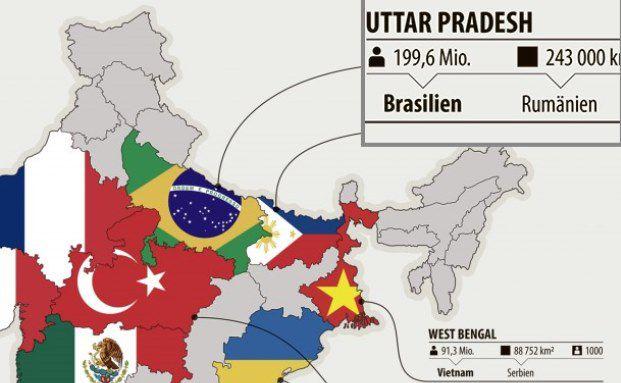 Indien hat das Potenzial, China als erste Macht im asiatischen Raum abzulösen.