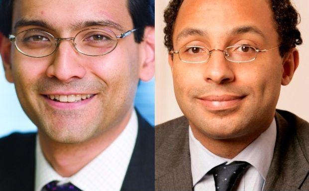 Manager des Aberdeen Global Emerging Markets Equity <br> Devan Kaloo (li.) und Jonathan Asante, der die Fonds <br> First State Global Emerging Markets und First State <br> Global Emerging Markets Leaders verantwortet