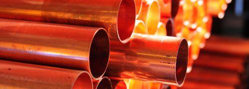 Kupferrohre: Der direkte Weg ist bei Rohstoffen <br>nicht immer der beste. Quelle: Fotolia
