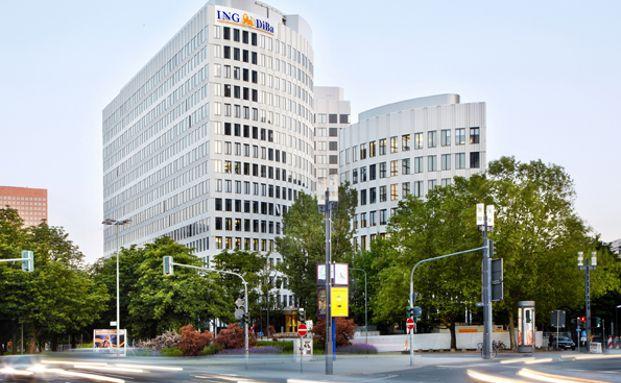 Die Frankfurter Zentrale der ING-DiBa. Foto: ING-DiBa Pressebild
