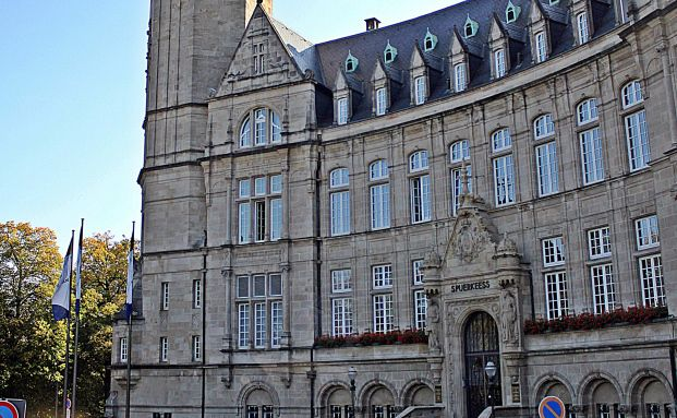 Das Banken-Museum in Luxemburg, dem größten Fondsstandort in Europa (Quelle: Rainer Brückner / Pixelio.de)