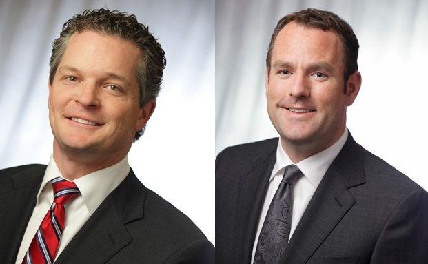 Brad Kinkelaar (li.) und Cliff Remily