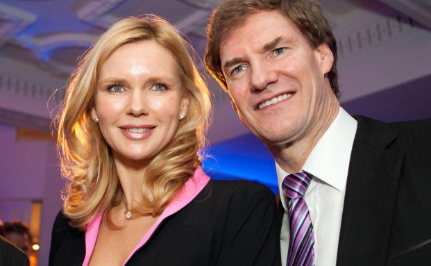 Carsten Maschmeyer mit Lebensgefährtin und Verlobten <br> Veronica Ferres.  Quelle: Getty Images