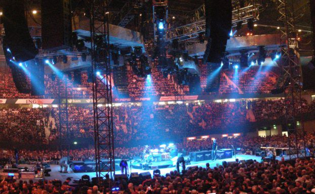 Metallica-Konzert in Rotterdam 2009. <br> Quelle: Merijn Bos/Wikipedia