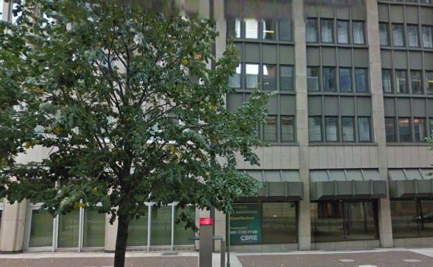 Große Gallusstraße in Frankfurt, Sitz vom Metzler-Haus. Künftig muss Deutschlands älteste Privatbank ohne den Partner Hartmut Petersmann auskommen. Quelle: Google Street View