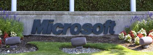 Microsoft geh&ouml;rt zu den gro&szlig;en K&auml;ufern <br> eigener Aktien und ist eine Top-Position <br> des KBC-Fonds; Quelle: Getty Images