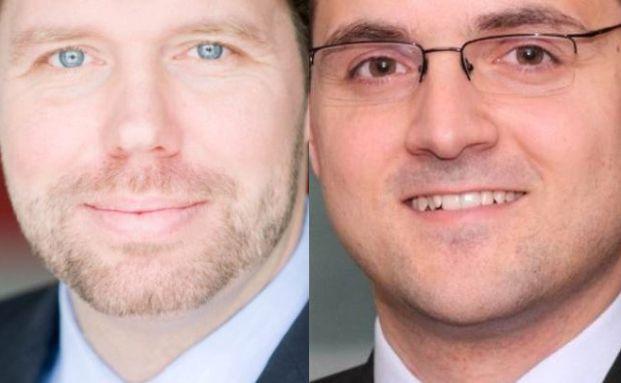 Oliver Morath (l.) und Lutz-Peter Wilke