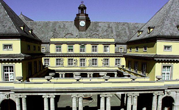 Das Hauptgebäude von Munich Re