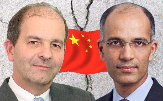 Fabrice Jacob, Manager des LFP JKC Asia Value & Ashish Goyal, Manager des NN Greater China Equity