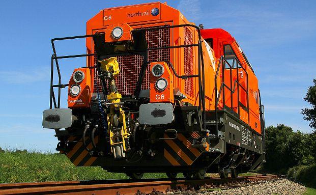 Das Startinvestment des neuen Fonds: Eine Rangierlokomotive vom Typ Vossloh G 6 Bild: Paribus Capital