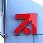 Logo am Firmengeb&auml;ude<br/>von ProSiebenSat.1