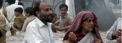 Flutopfer im pakistanischen Charsada District; <br> Quelle: Aktion Deutschland hilft