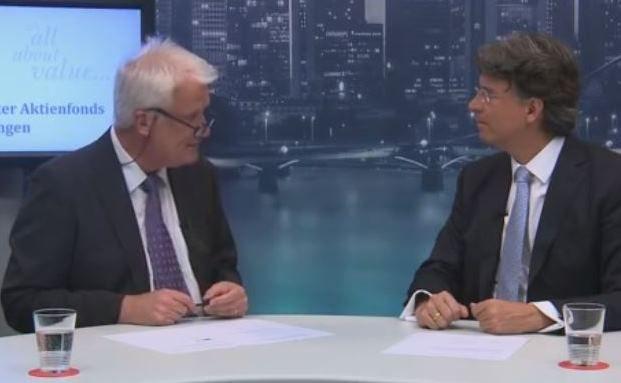 Ex-Bloomberg-Chefredakteur Wilhelm Kötting und Fondsmanager Frank Fischer im Gespräch