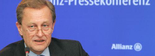 Helmut Perlet, <br>Finanzvorstand Allianz Gruppe